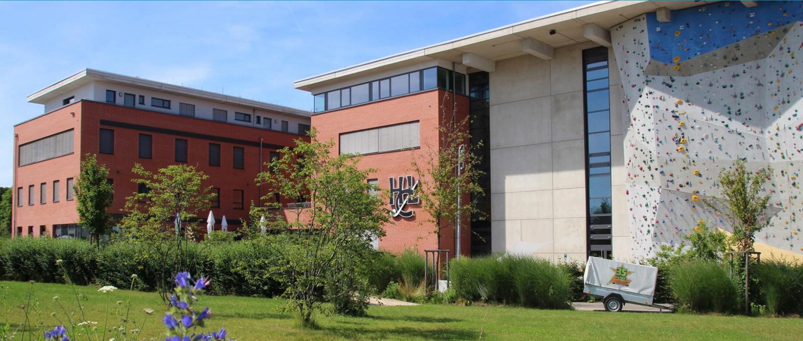Stiftung zur Unterstützung des Hockeysports in Ludwigsburg, Aussenansicht Sportzentrum Ost
