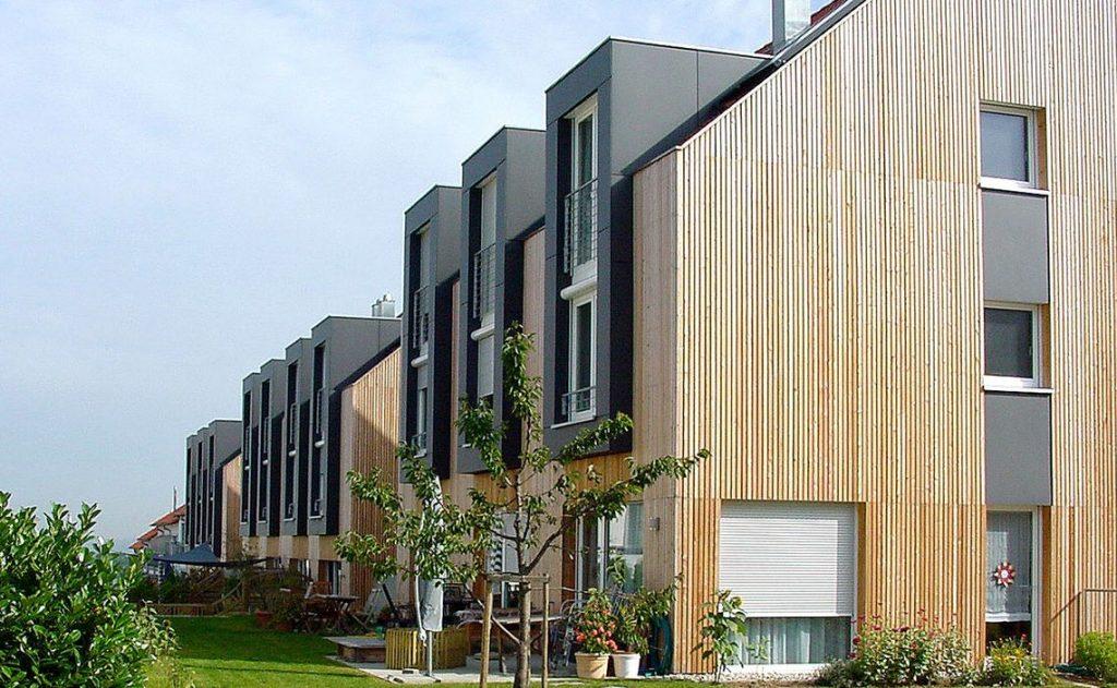 Wohnhaus-Komplex der Wohnbau Reisser