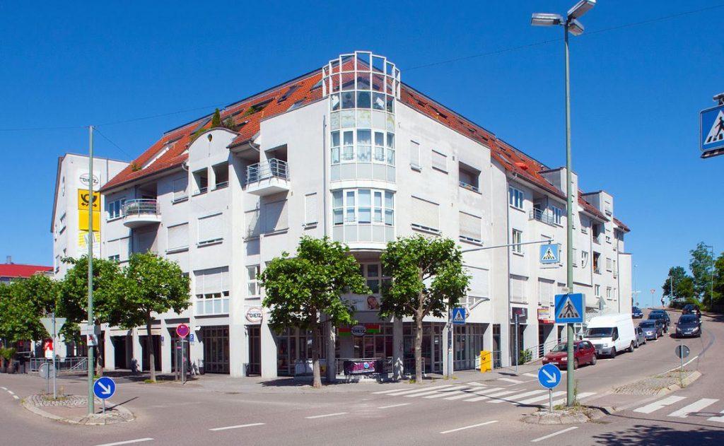 Wohn- und Geschäftshaus als Referenz der Wohnbau Reisser
