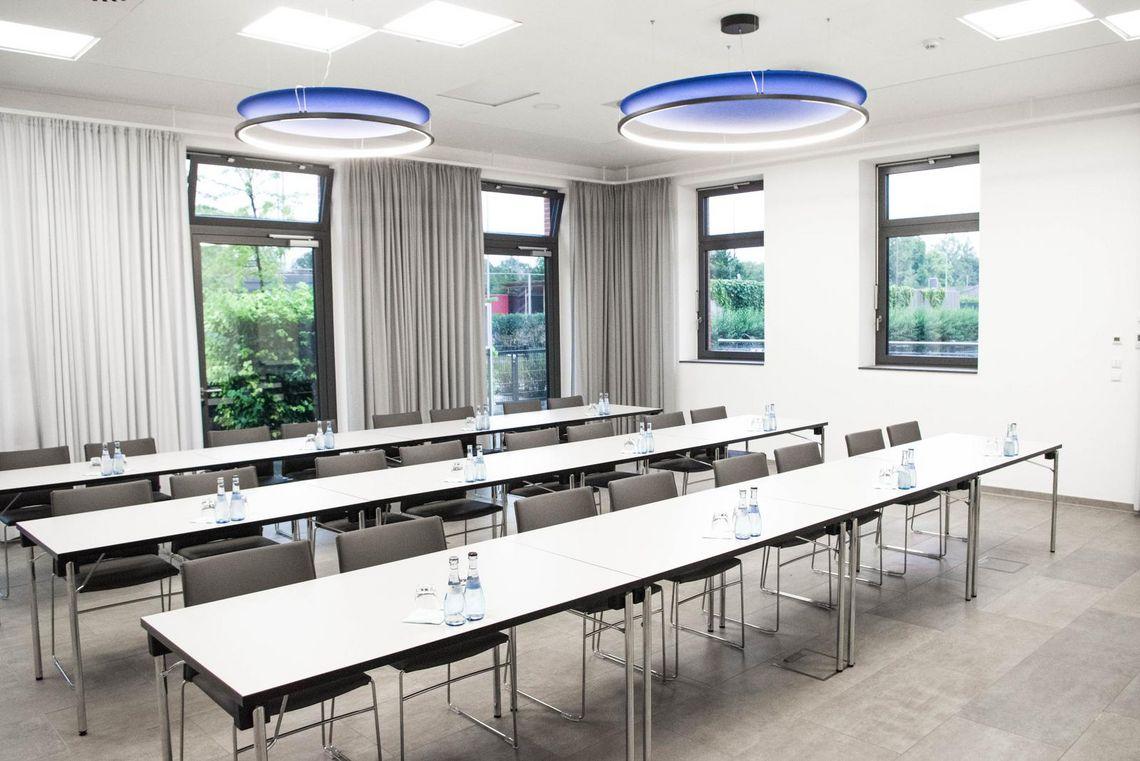 Vermietung von Seminarräumen in Ludwigsburg hier die Seminarräume Süd und West im Sportzentrum Ost