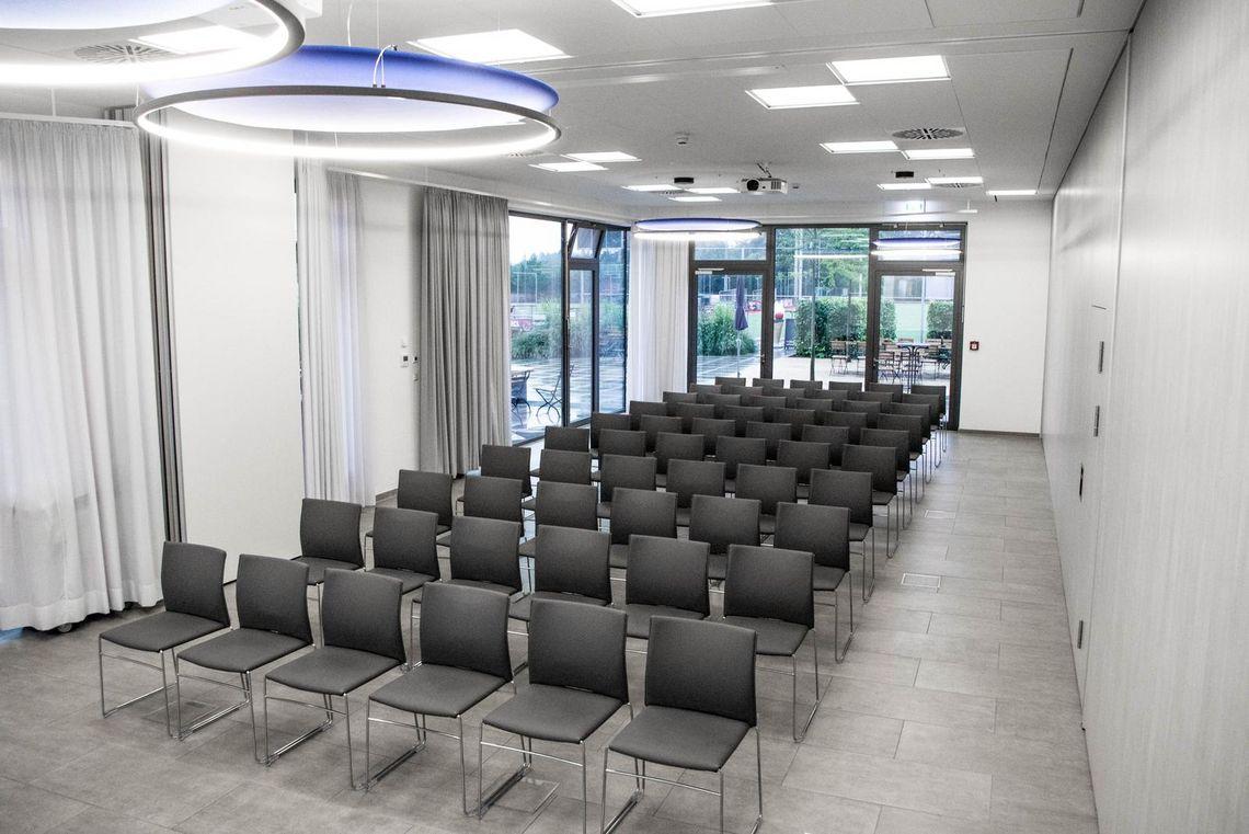 Vermietung von Seminarräumen in Ludwigsburg hier die Seminarräume Ost und Süd-Ost im Sportzentrum Ost