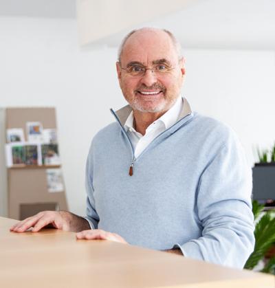 Stiftung zur Unterstützung des Hockeysports in Ludwigsburg hier der Gründer und Vorstandsvorsitzender Wolfgang Reisser